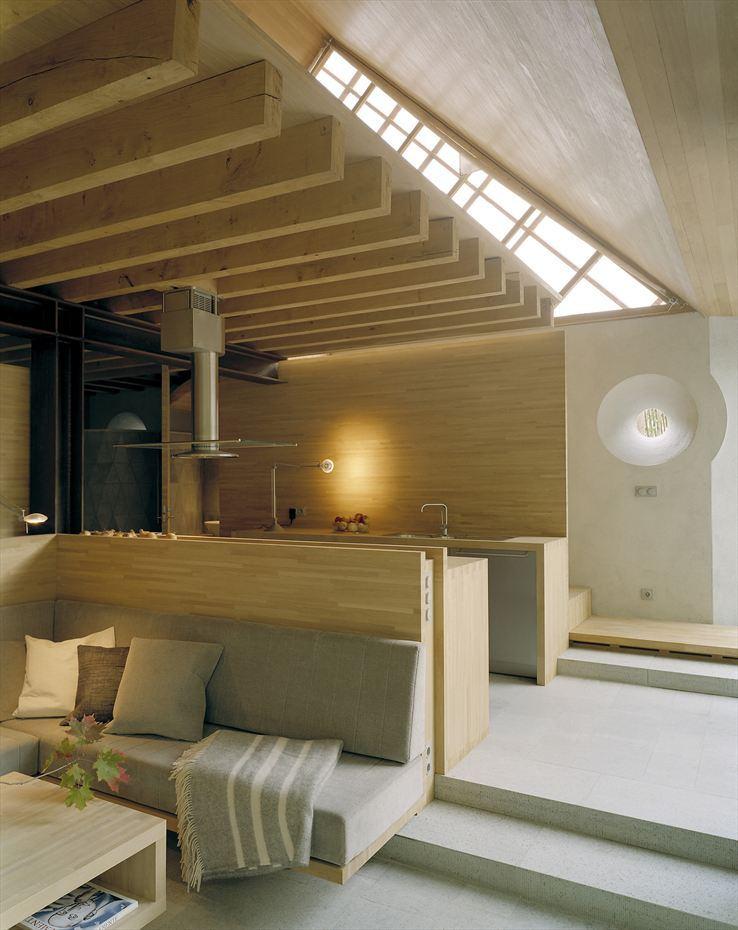 Скандинавский дом гостиная