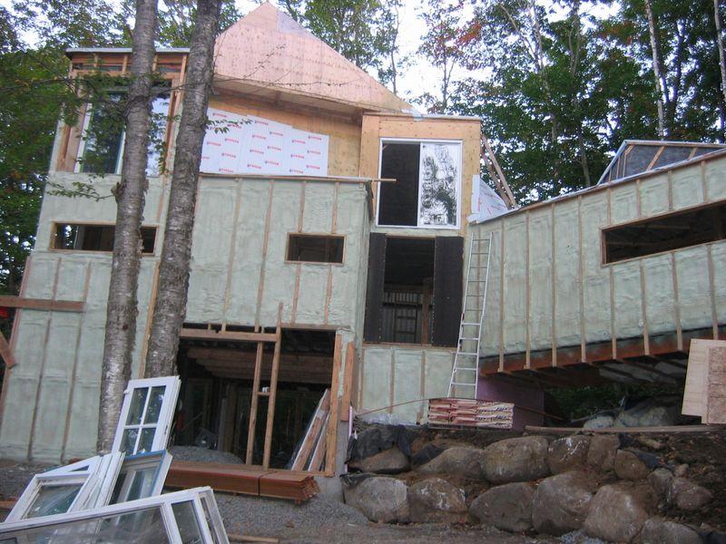 строительство дома из грузовых контейнеров по проекту Maison Idekit Home