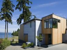 Современный дом на острове