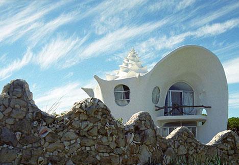Дом ракушка Октавио Окампо