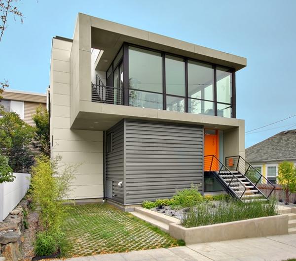 Бюджетный дом - проект Crockett Residence