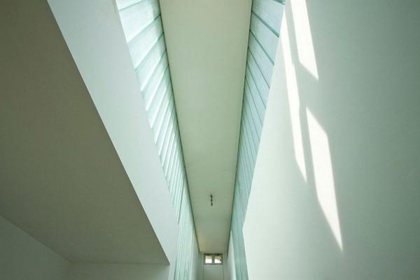 дом с зеленой крышей - потолок
