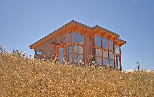 Дом с полным жизнеобеспечением за счет солнечной энергии от FabCab Partnership