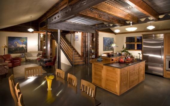 Красивый дом из утильсырья в Валла-Валла фото 1