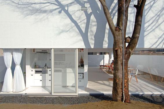 Многоуровневый дом в японском стиле фото 5