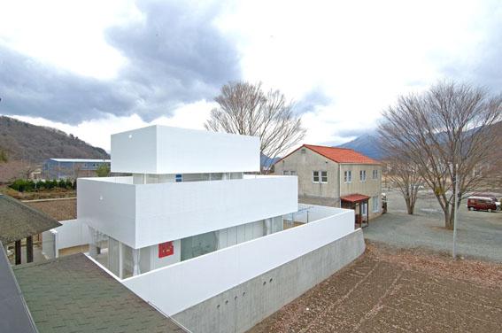 Многоуровневый дом в японском стиле фото 1