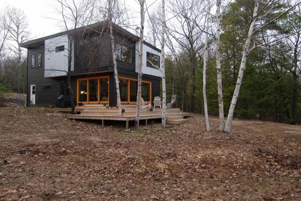 Дом в деревенском стиле от компании  Altius Architecture
