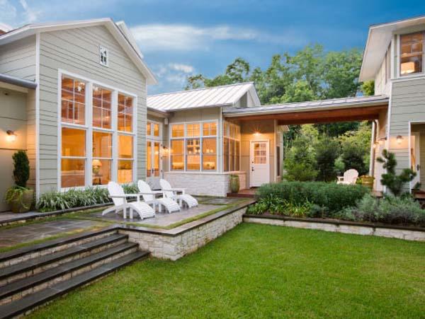 Загородный дом на озере Остин