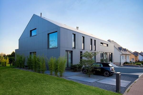 Дом с большими окнами проект