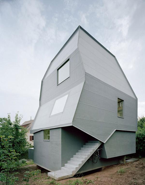 частный дом с нулевым потреблением энергии
