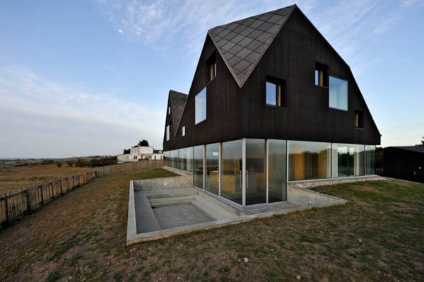 проект прозрачного дома