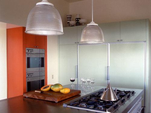 современный дом - кухня