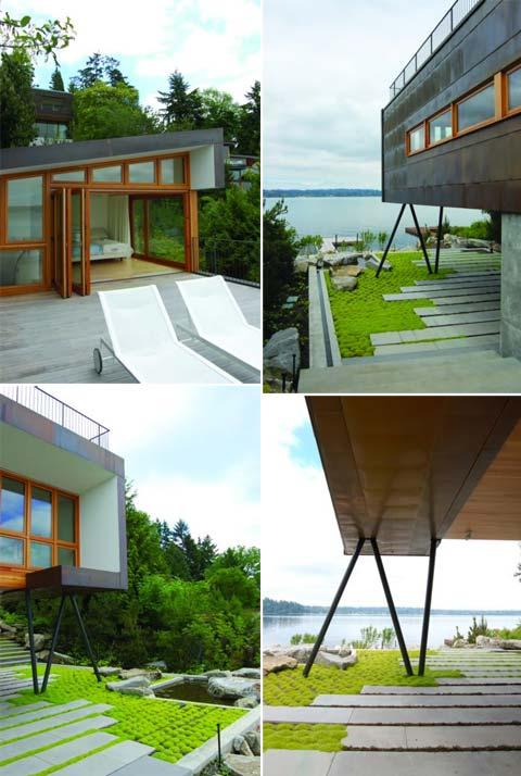 Маленький дом у озера фото 5