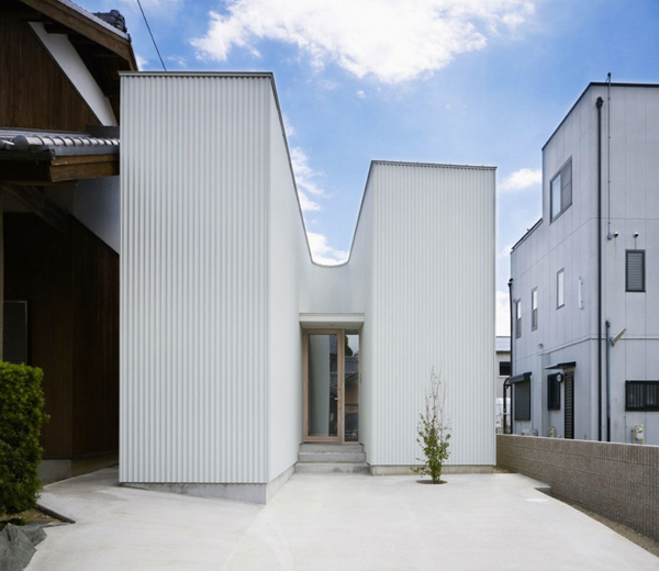 частный инновационный японский дом фото 2