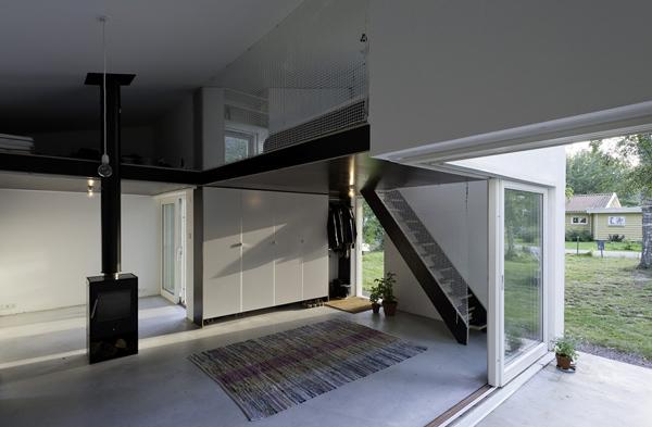 Современный миниатюрный домик для отдыха фото 4