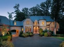 Дом в стиле замка - Buckhead Residence (20)
