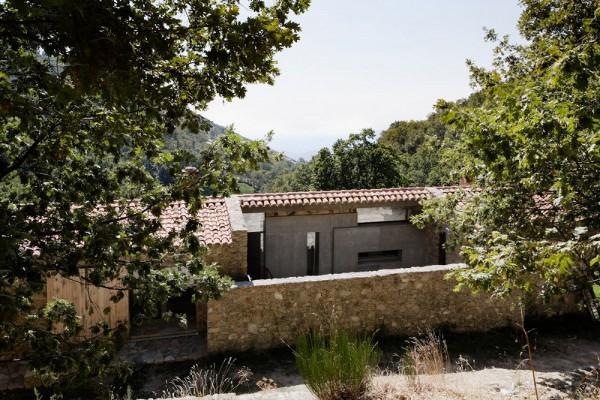 Вилла Finca en Extremadura по проекту ABATON