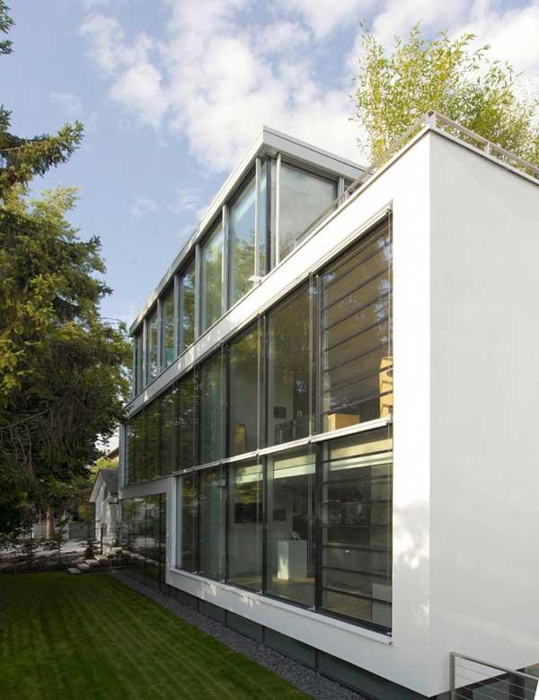 проект шикарного четырехэтажного дома