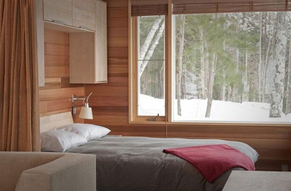 Скромный лесной дом фото 10