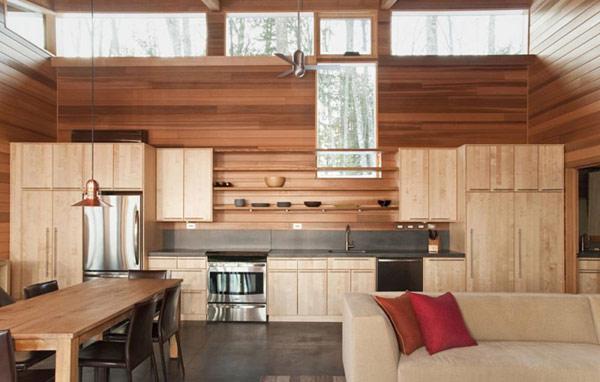 Скромный лесной дом фото 9