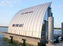 Современный плавающий дом (1)