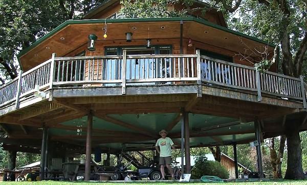 дом на дереве фото 2