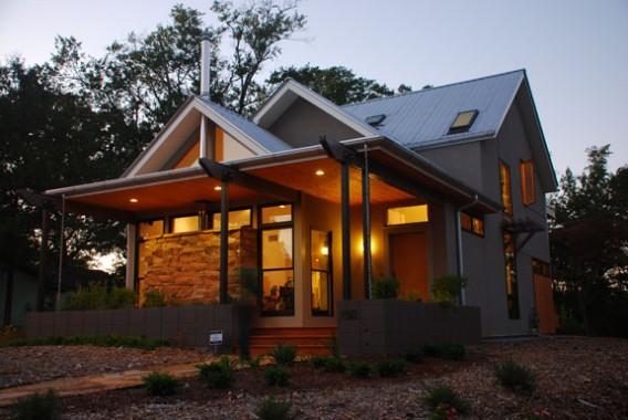 фото дома «платинового» стандарта LEED