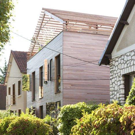 дом с плоской крышей фото 1