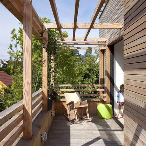 загородный дом с плоской крышей фото 3