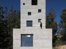 Бетонный дом - проект Маурисио Пезо (5)
