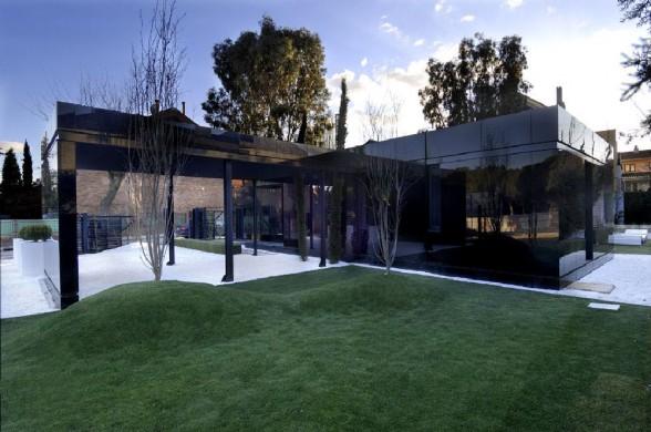 загородный дом в стиле хай-тек A-cero