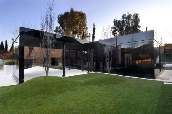 частный дом в стиле хай-тек фото 2