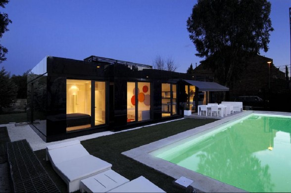 Дом в стиле хай-тек фото 1