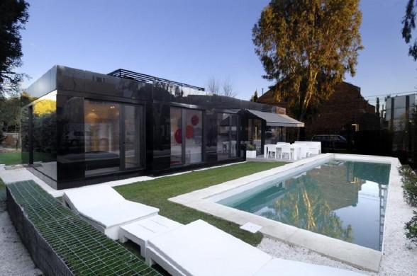 Дом в стиле хай-тек A-cero