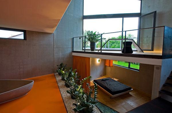Престижный дом из бетона в современном германском стиле фото 1