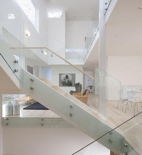 Разноуровневый дом по проекту David Jameson Architect фото 2