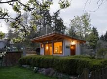 Гостевой домик с газонной крышей  (4)