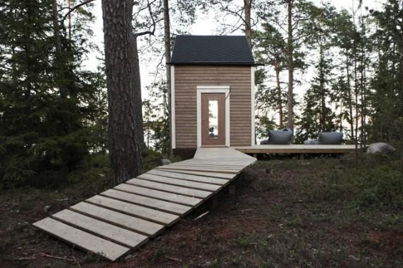 Миниатюрный дом по проекту Robin Falck фото 1
