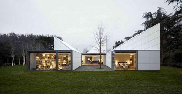 проект неординарного геометрического дома