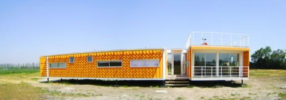 свой дом из контейнеров по проекту Rubén Rivera Peede