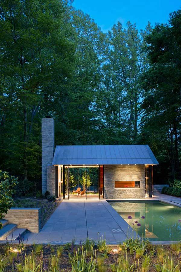 Дом со стеклянными стенами фото 1