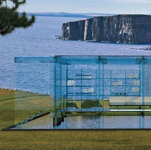 Дом из стекла фото
