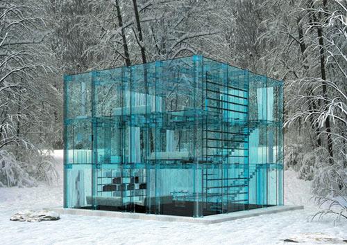 Дом из стекла Santambrogio