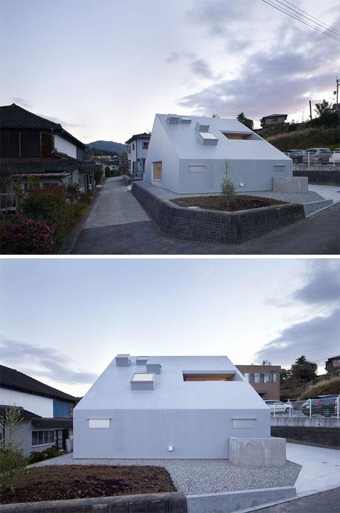 Компактный двухэтажный дом фото 2