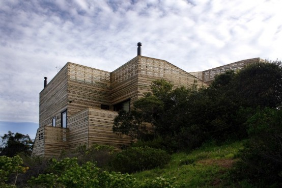 фото дома крепостьи по проекту José Ulloa Davet