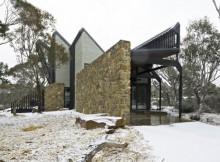 Дом с наклонными стенами по проекту (2)
