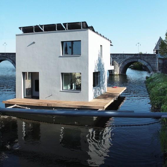 Плавающий дом фото 6