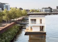 Плавающий дом по проекту Питера (7)