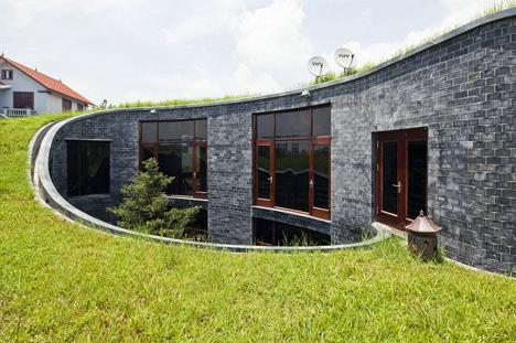 загородный дом-спираль фото 2