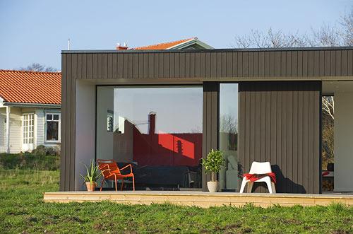загородный  модульный дом фото 5